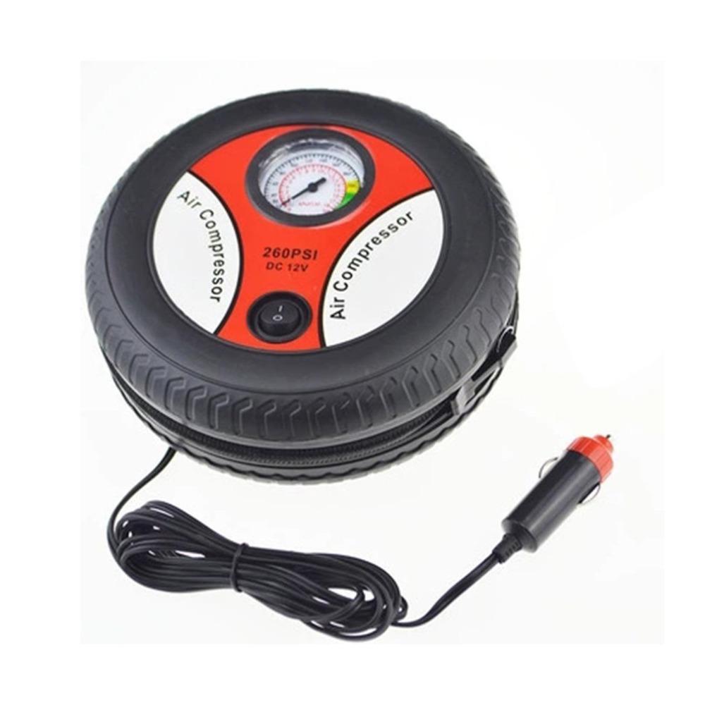 [해외]티롤 자동차 스타일링 풍선 펌프 12V 미니 휴대용 자동차 공기 압축기 타이어 전기 Inflater 자동 펌프 J35CZJ6845200/Tirol Car Styling Inflatable Pump 12V Mini Portable Car Air Compressor