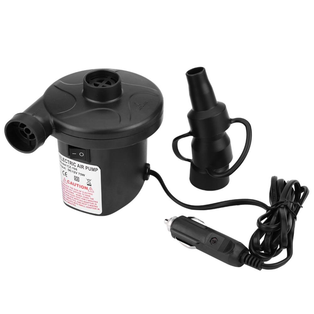 [해외]자동 자동차 12V 전기 공기 펌프 팽창기 수축기 공기 압축기 보트 침대 매트리스에 대 한 풍선 펌프/Auto Car 12V Electric Air Pump Inflator Deflator Air Compressor Inflatable Pump for Boat