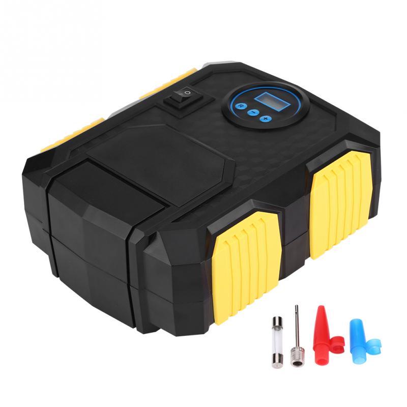[해외]새로운 DC 12V 전기 디지털 휴대용 자동차 타이어 팽창기 펌프 공기 압축기 150PSI 자동차에 대한 볼 자전거의 자동차 문자열/New DC 12V Electric Digital Portable Car Tire Inflator Pump Air Compress
