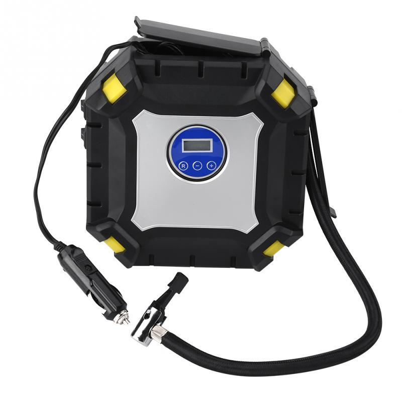 [해외]자동차 자전거 공에 대 한 12V 100 PSI 디지털 타이어 팽창기 휴대용 디지털 자동차 타이어 팽창기 펌프 전기 공기 압축기/12V 100 PSI Digital Tire Inflator Portable Digital Car Tire Inflator Pump