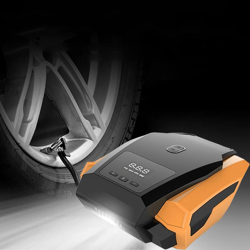 [해외]자동차 공기 압축기 12V 공기 압축기 휴대용 자동차 타이어 팽창기 미니 전기 자동차 자동차 공기 압축기 도구/Car Inflatable Pump 12V Air Compressor Portable Automobile Tire Inflator Mini Electr