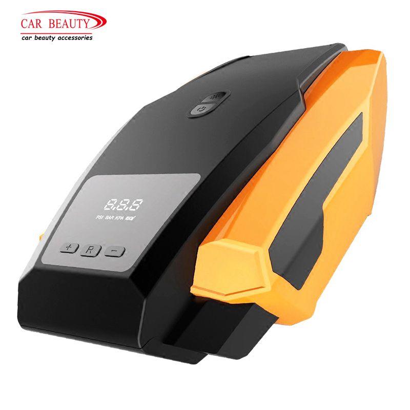 [해외]150PSI 자동차 공기 압축기 풍선 펌프 디지털 LED 디스플레이 자동 자전거 오토바이에 대 한 DC 12V 휴대용 타이어 Inflator/150PSI Car Air Compressor Inflatable Pump Digital LED Display DC 12