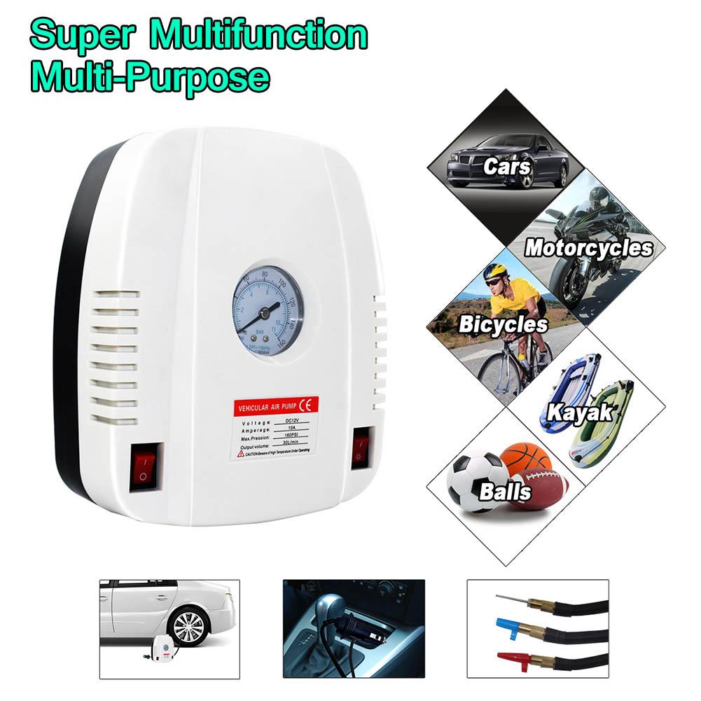 [해외]자동차 공기 압축기 트럭 자전거 오토바이 88 XR657에 대 한 휴대용 디지털 타이어 팽창기 펌프/Car Air Compressor Portable Digital Tire Inflator Pump for Truck Bicycle Motorcycle 88 XR6