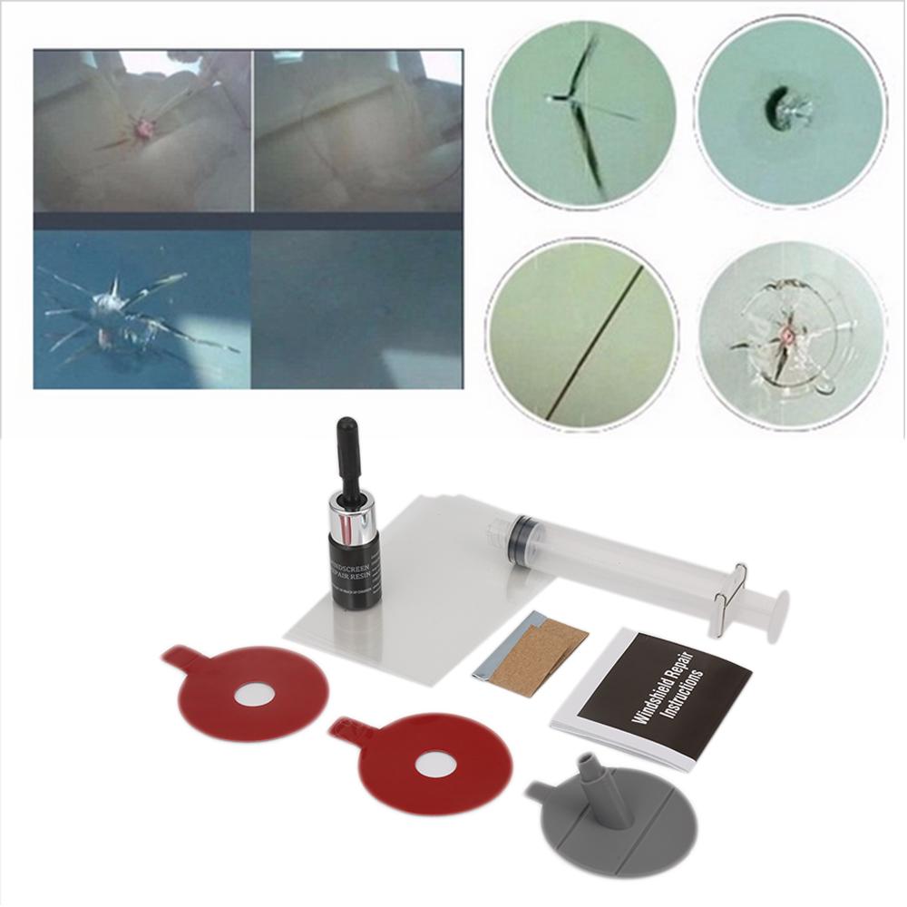 [해외]앞 유리 수리 키트 차창 수리 도구 앞 유리 스크래치 크랙 복원 윈도우 스크린 폴리싱 자동차 스타일링/Windshield Repair Kits Car Window Repair Tools Windscreen Glass Scratch Crack Restore Win