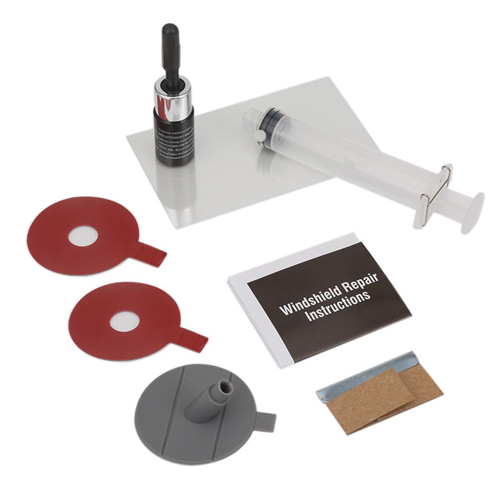 [해외]DIY 자동차 앞 유리 수리 키트 도구 자동 유리 앞 유리 수리 금이 간 세트 문 인감 손잡이 보호 장식 스티커/DIY Car Windshield Repair Kit tools Auto Glass Windscreen Repair Cracked Set Give D