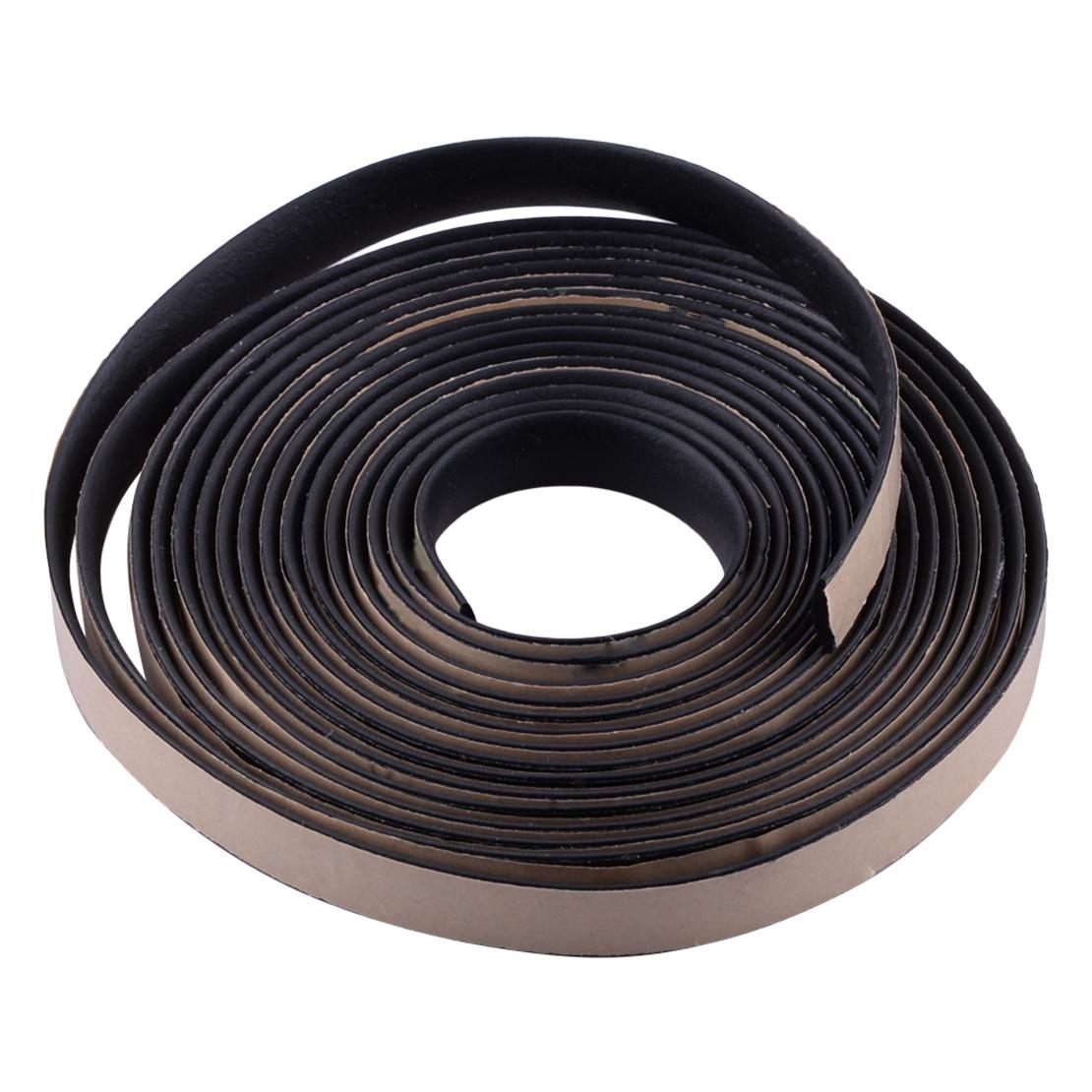 [해외]DWCX 자동차 블랙 5M EPDM 고무 및 스티커 방수 씰링 스트립 트림은 자동차 앞 유리 썬 루프 삼각 창에 적합/DWCX Car Black 5M EPDM Rubber and Sticker Waterproof Sealed Strip Trim Fit for C