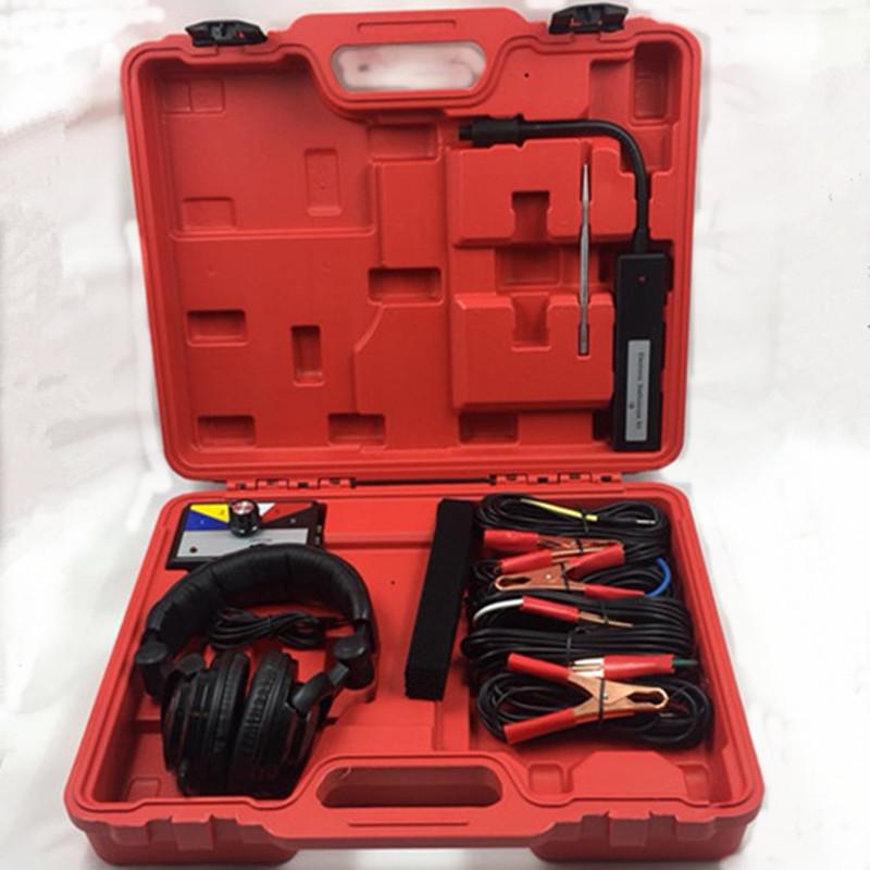 [해외]자동차 조합 전자 청진기 키트 정비공 소음 진단 도구/Car Combination Electronic Stethoscope Kit Mechanic Noise Malfunction Diagnostic Tool
