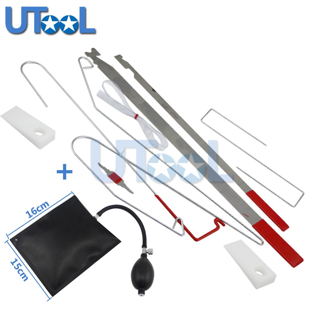 [해외]범용 자동차 잠금 도구 키트 잠금 해제 자동차 문 열기 도구 KitAirbag 자물쇠 도구/Universal Car Lock Out Tool Kit Unlock Car Door Open Tool KitAirbag Locksmith Tools