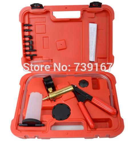 [해외]자동 진공 펌프 테스터 차고 도구 포드 폭스 바겐 메르세데스 ST0234에 대한 자동차 브레이크 유체 Bleeder 압력 진단 수리 도구/Auto Vacuum Pump Tester Garage Tools Car Brake fluid Bleeder Pressure