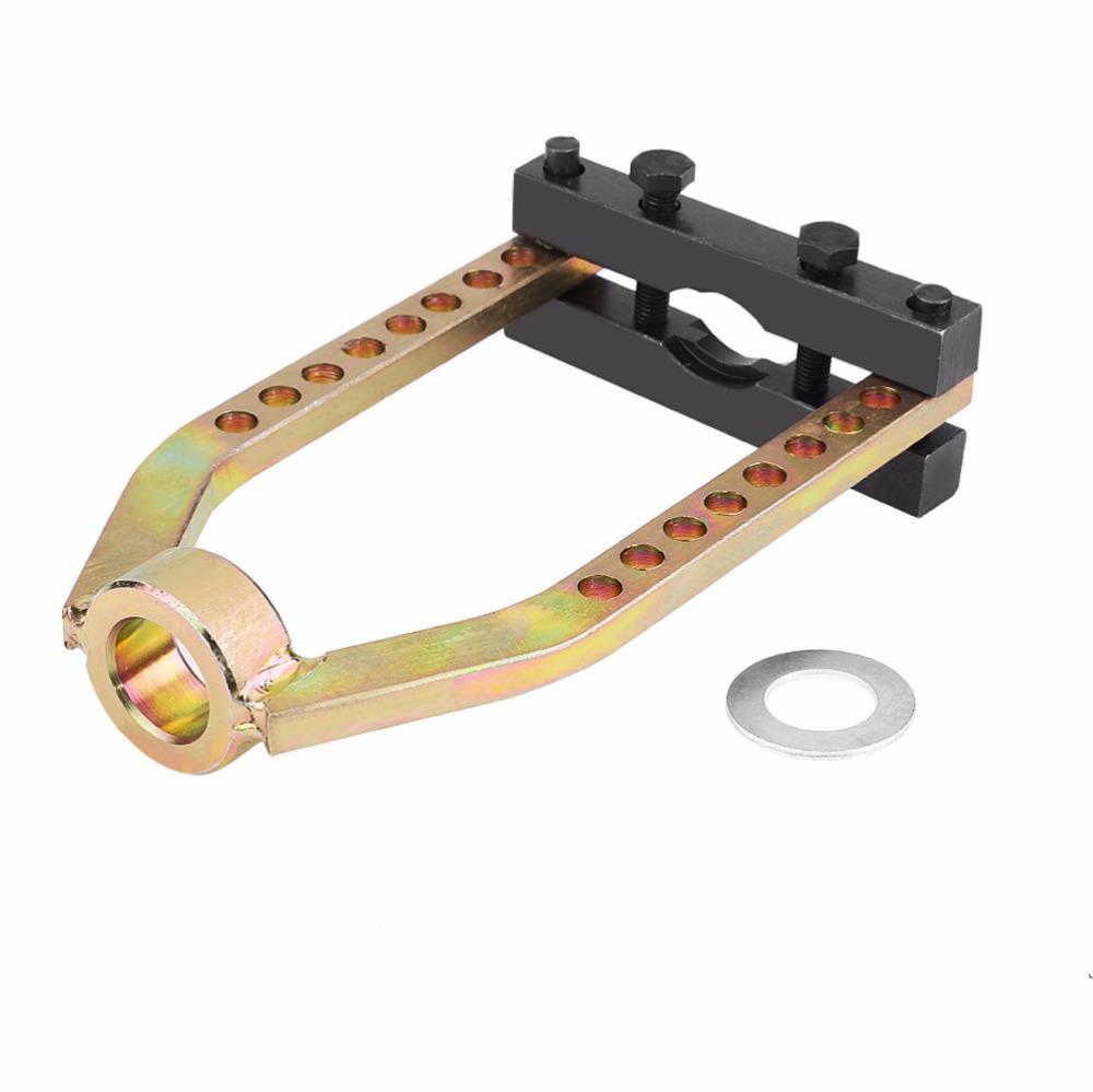 [해외]범용 9 홀 자동차 전동 구동축 제거 공구 CV Joint 풀러 Propshaft Separator Tool 25x14 CM/Universal 9 Holes Car Transmission Drive Shaft Removal Tool CV Joint Puller