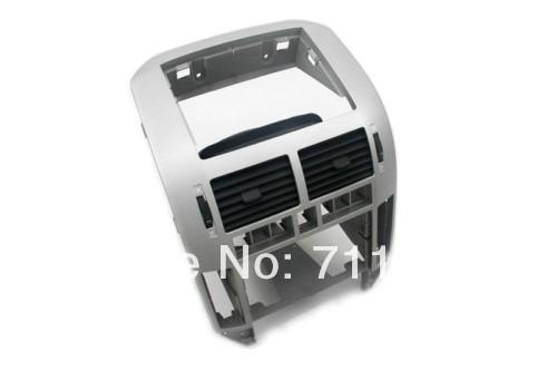 [해외]VW 폴로 9N 9N3 용 폭스 바겐 용 센터 콘솔 에어 벤트 실버/Center ConsoleAir Vents Silver For Volkswagen For VW Polo 9N 9N3