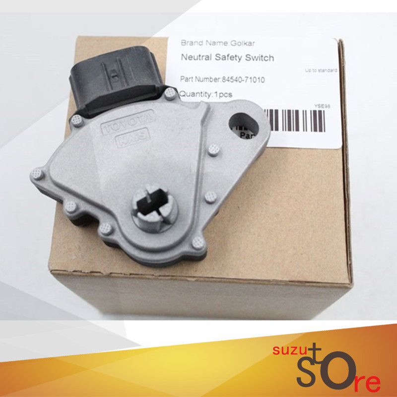 [해외]?TOYOTA FJ CRUISER, 4RUNNER, FORTUNER, HILUX, HIACE, 육상 크루저, PRADO 용 Golkar Transmission Neutral Safety Switch 84540-71010/ Golkar Transmission Ne