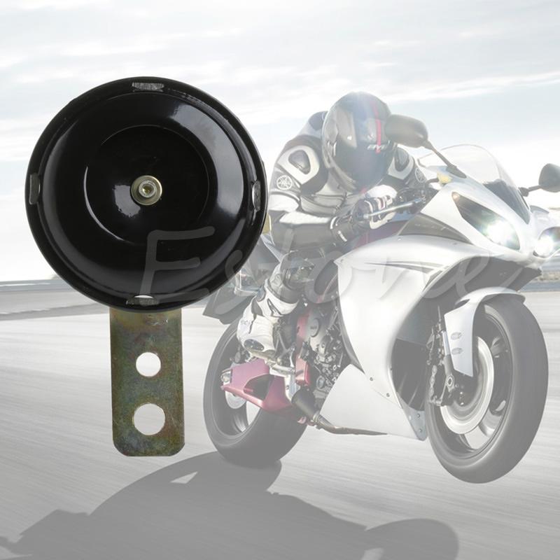 새로운 도착 유니버설 110db 방수 오토바이 스쿠터 자전거 경적 시끄러운 톤 사운드 dc 12 v