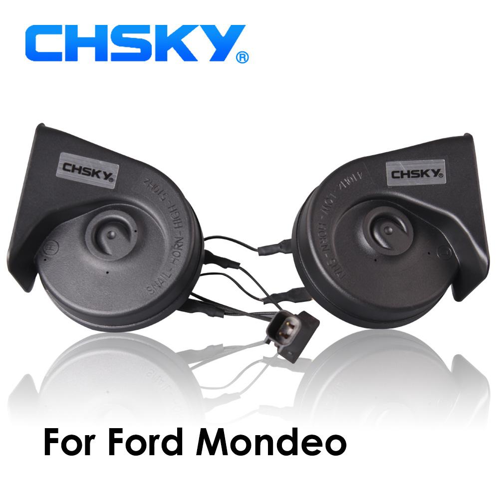 [해외]CHSKY 자동차 경적 포드 Mondeo 2007 년 지금 NOV 12V 소리에 대한 달팽이 유형 호른 110-129db 자동 경적 긴 수명 시간 높음 낮음 Klaxon/CHSKY Car Horn Snail type Horn For Ford Mondeo 2007
