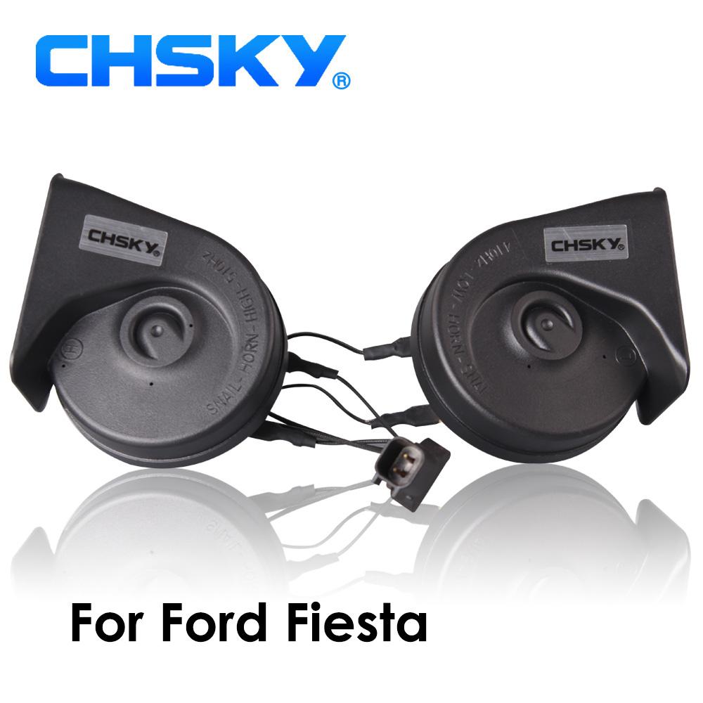 [해외]CHSKY 자동차 경적 포드 피에스타에 대 한 달팽이 유형 경적 1995-NOW 12V Loudness 110-129db 자동 경적 긴 수명 시간 높은 낮은 Klaxon/CHSKY Car Horn Snail type Horn For Ford  Fiesta 199