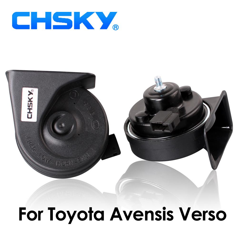[해외]CHSKY 자동차 경적 도요타 Avensis Verso 2001 ~ 2009 12V Loudness 110-129db 용 Auto Horn Long Life High Low Klaxon/CHSKY Car Horn Snail type Horn For Toyota