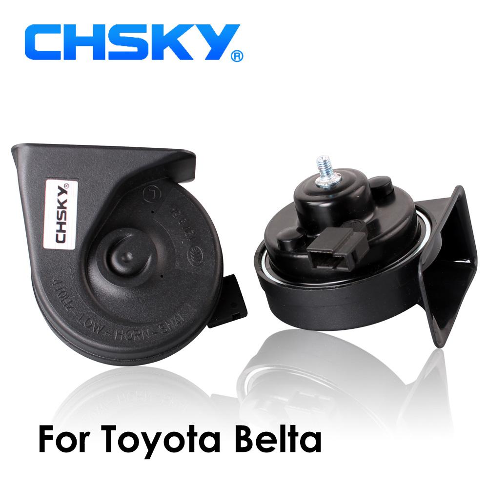 [해외]CHSKY 자동차 경적 도요타 Belta XP90에 대 한 달팽이 유형 경적 2006 2016 12V Loudness 110-129db 자동 경적 긴 수명 높은 낮은 Klaxon/CHSKY Car Horn Snail type Horn For Toyota Belt