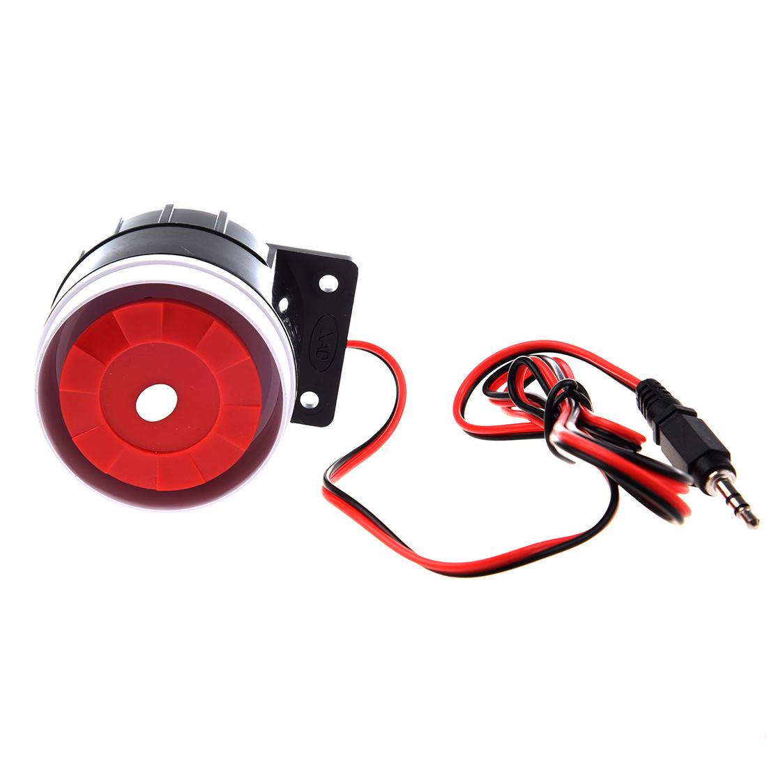 [해외]홈 보안 경보 시스템 호른 사이렌 120dB 12V에 대 한 유선 미니 사이렌/Wired Mini Siren for Home Security Alarm System Horn Siren 120dB 12V