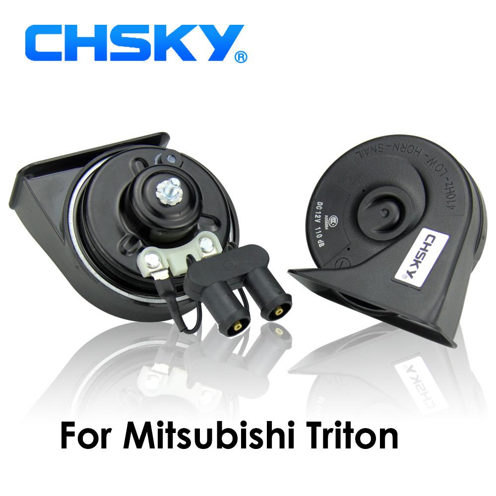 [해외]CHSKY 자동차 경적 미쓰비시 트리톤 용 달팽이 형 호른 2005 TO 12W Loudness 110-129db 오토 호른 긴 수명 하이 로우 클락슨/CHSKY Car Horn Snail type Horn For Mitsubishi Triton 2005 TO