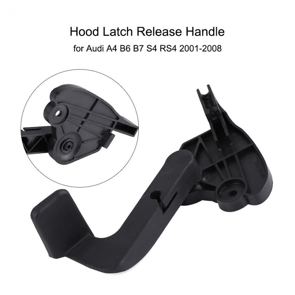 [해외]자동차 후드 보닛 릴리스 레버 래치 핸들 아우디 A4 B6 B7 S4 RS4 2001-2008 8E1 823 533 B 자동차 액세서리/Car Hood Bonnet Release Lever Latch Handle for Audi A4 B6 B7 S4 RS4 20