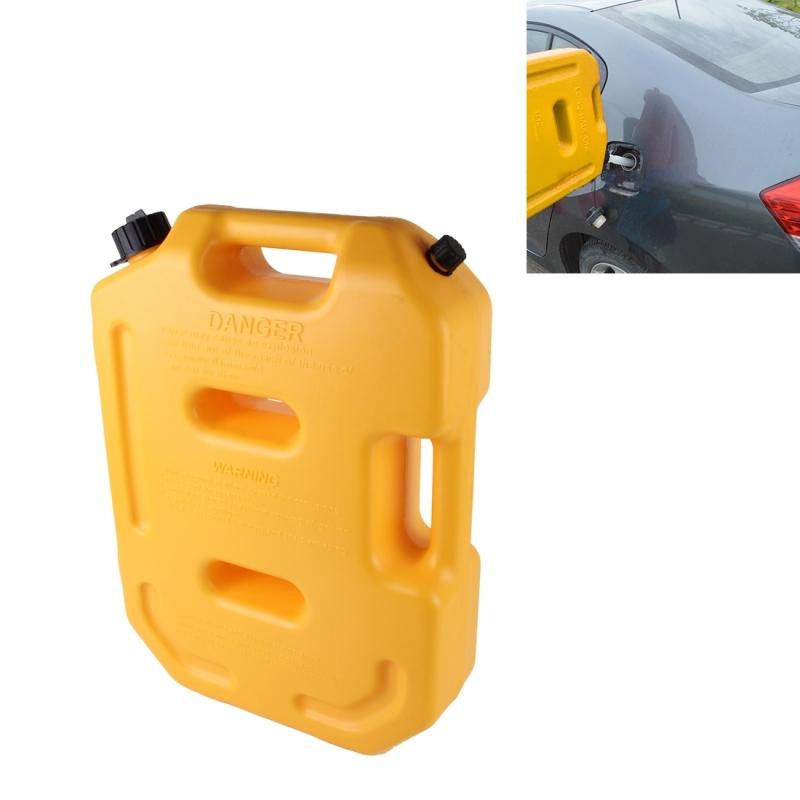 [해외]2016 가솔린 연료 탱크 플라스틱 2.6 갤런 10 리터 자동 차단 연료 캔 오일 컨테이너 비상 백업 황색/2016 Gasoline Fuel Tanks Plastic 2.6 Gallon 10 Litres Auto Shut Off Fuel Cans Oil Con