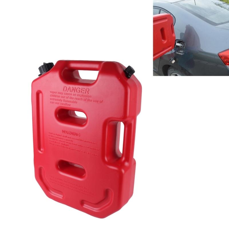 [해외]2016 가솔린 연료 탱크 플라스틱 2.6 갤런 10 리터 자동 차단 연료 캔 오일 컨테이너 비상 백업 적색/2016 Gasoline Fuel Tanks Plastic 2.6 Gallon 10 Litres Auto Shut Off Fuel Cans Oil Con