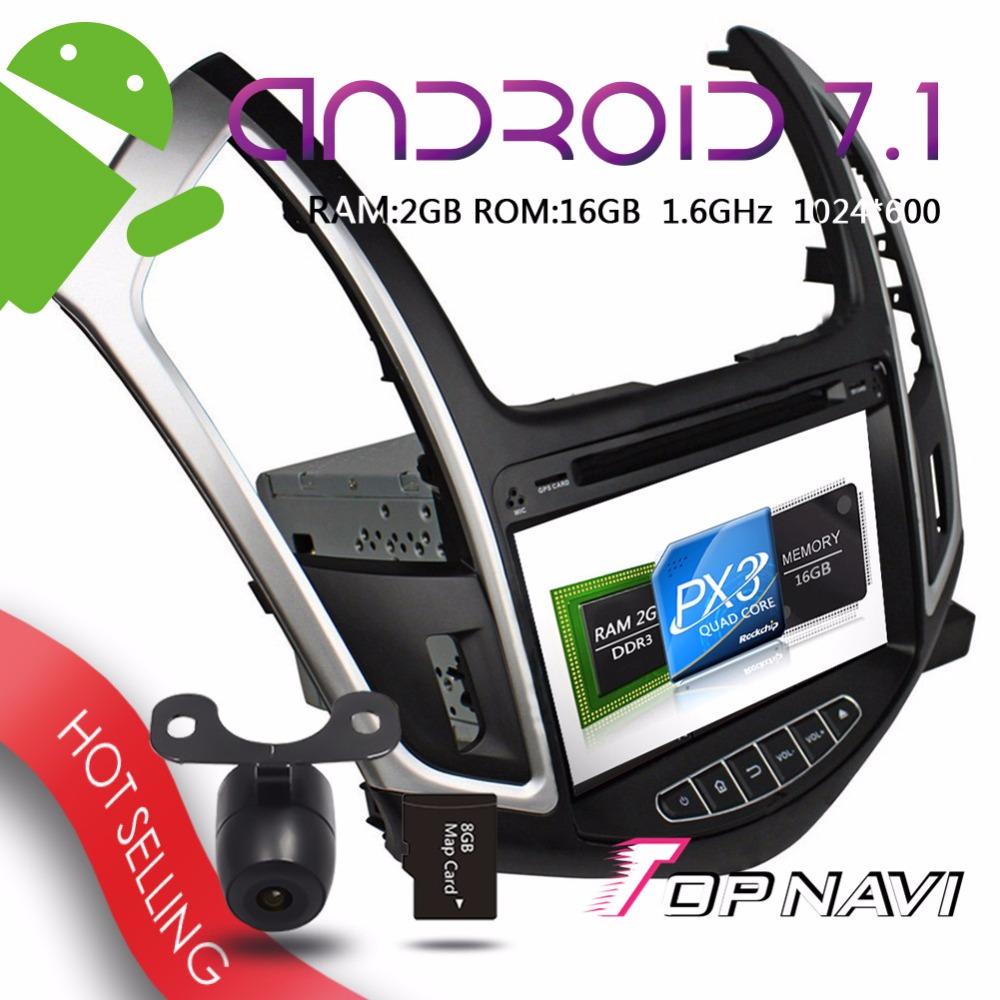 [해외]Topnavi 8 &&? ? ???? ?? 7.1 시보레 Cruze 2015 자동차 GPS 네비게이션 스테레오 블루투스 원격 제어 멀티미디어를자동 플레이어/Topnavi 8&& 안드로이드 7.1 Auto Players for Chevrolet Cr