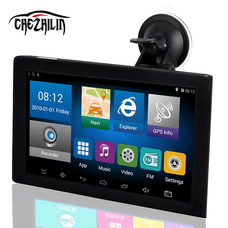 [해외]9 인치 자동차 GPS 네비게이션 트럭 태블릿 시스템 16GFree지도 + DVR + 블루투스 차량 트럭 GPS 네비게이터 북미지도/9 inch Car GPS Navigation Truck Tablet System 16GFree Map+ DVR+Bluetooth