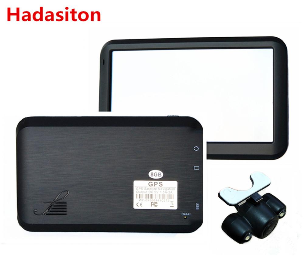 [해외]새로운 5 & 터치 스크린 자동차 GPS 네비게이션 토 Nav CPU800M 128M / 8 기가 바이트 FM + 무료지도, 블루투스 AV-IN & Rearview 카메라 옵션/New 5& Touch Screen  Car GPS Navigation