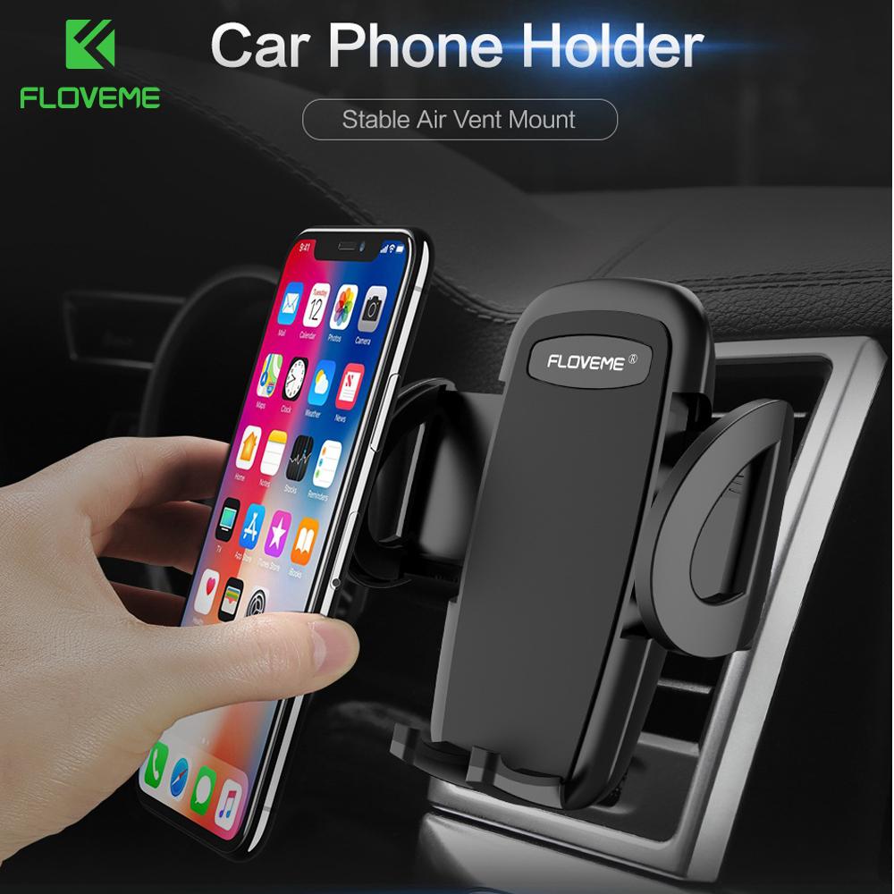 [해외]FLOVEME 아이폰 X 8에 대한 슈퍼 안정적인 자동차 전화 홀더 7 공기 통풍 마운트 스탠드 자동차에있는 전화에 대 한 홀더 GPS 네비게이터 지원 요람/FLOVEME Super Stable Car Phone Holder For iPhone X 8 7 Air