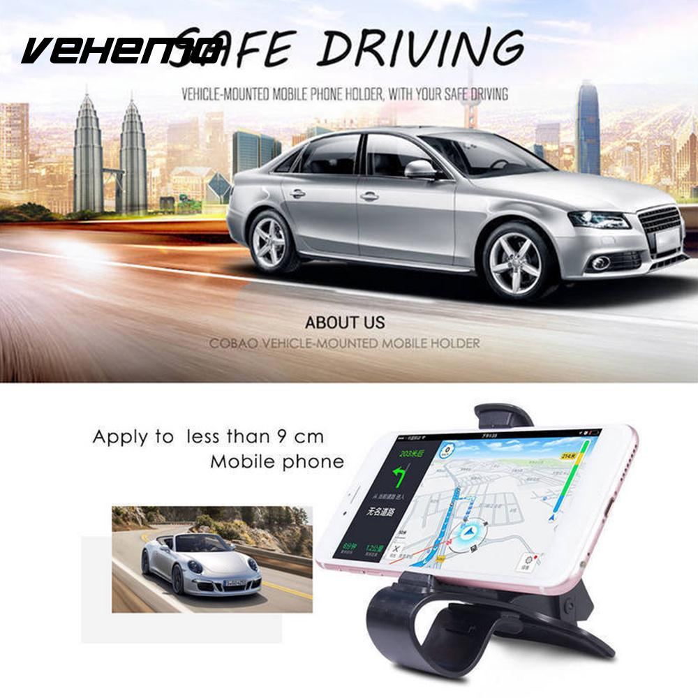 [해외]블랙 유니버설 시설 GPS 마운트 홀더 자동차 인테리어 네비게이션 자동차 자동차 대시 보드 스탠드 핸드폰 HUD 디자인/Black Universal Facility GPS Mount Holder Car Interior Navigation Automobile Ca