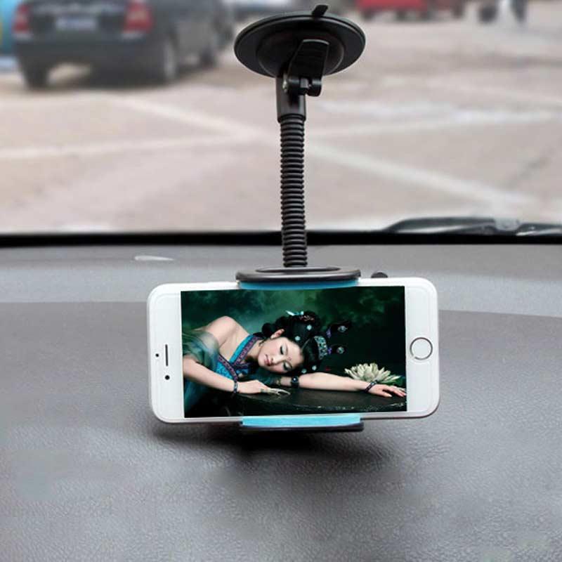 [해외]범용 자동차 전화 공기 환기 홀더 스탠드 360도 긴 팔 전화 대괄호 마운트 아이폰 6 / 6s 7/7 플러스에 대 한 회전/Universal Car Phone Air Vent Holder Stand Rotating 360 Degree Long Arm Phone