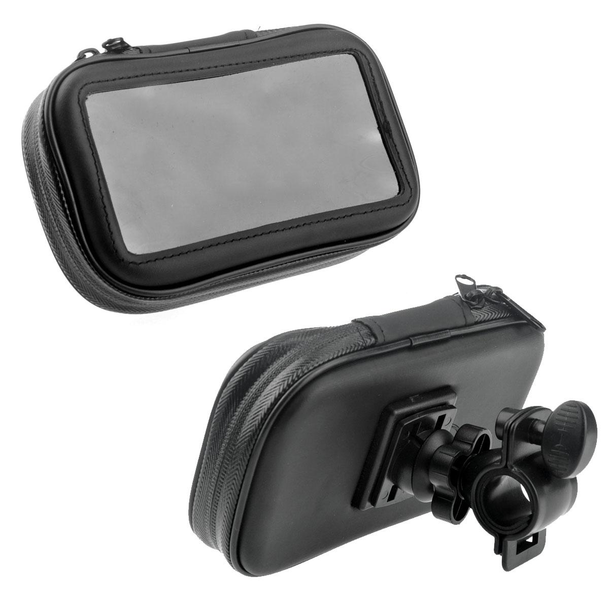 [해외]4.3 & 5.0 및 GPS / 핸드폰 / PDA에 대 한 휴대용 자전거 자전거 오토바이 방수 가방 CaseMount 홀더/Portable Bike Bicycle Motorcycle Waterproof Bag CaseMount Holder for 4.3&