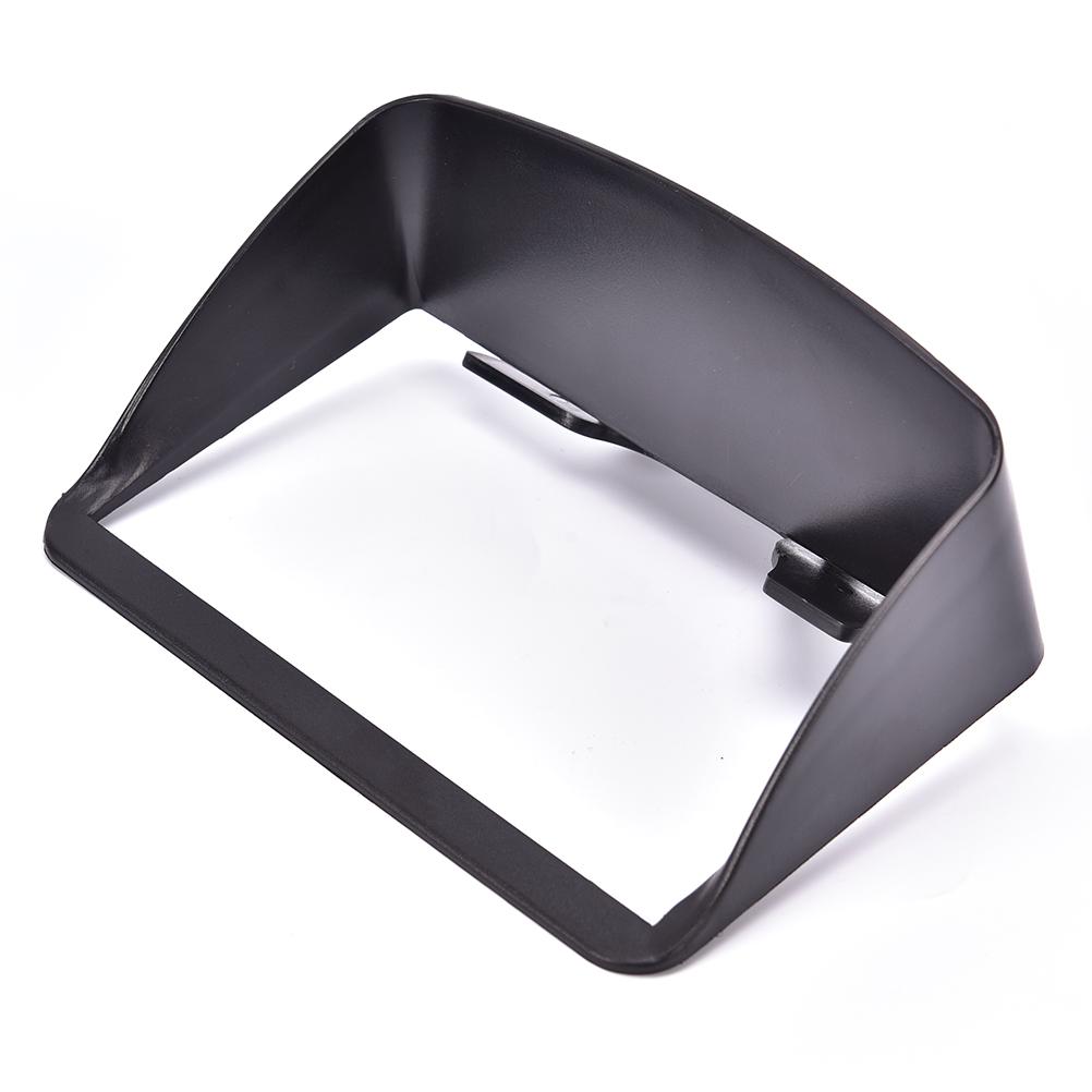 [해외]1pc 12.5cm x 7.8cm x 3.2cm 블로킹 햇빛 차양 강력한 광택 후드 바이저 4.3 / 5 인치 차량용 GPS 네비게이션/1pc 12.5cm x 7.8cm x 3.2cm Blocking Sunlight Sunshade Strong shine Hoo