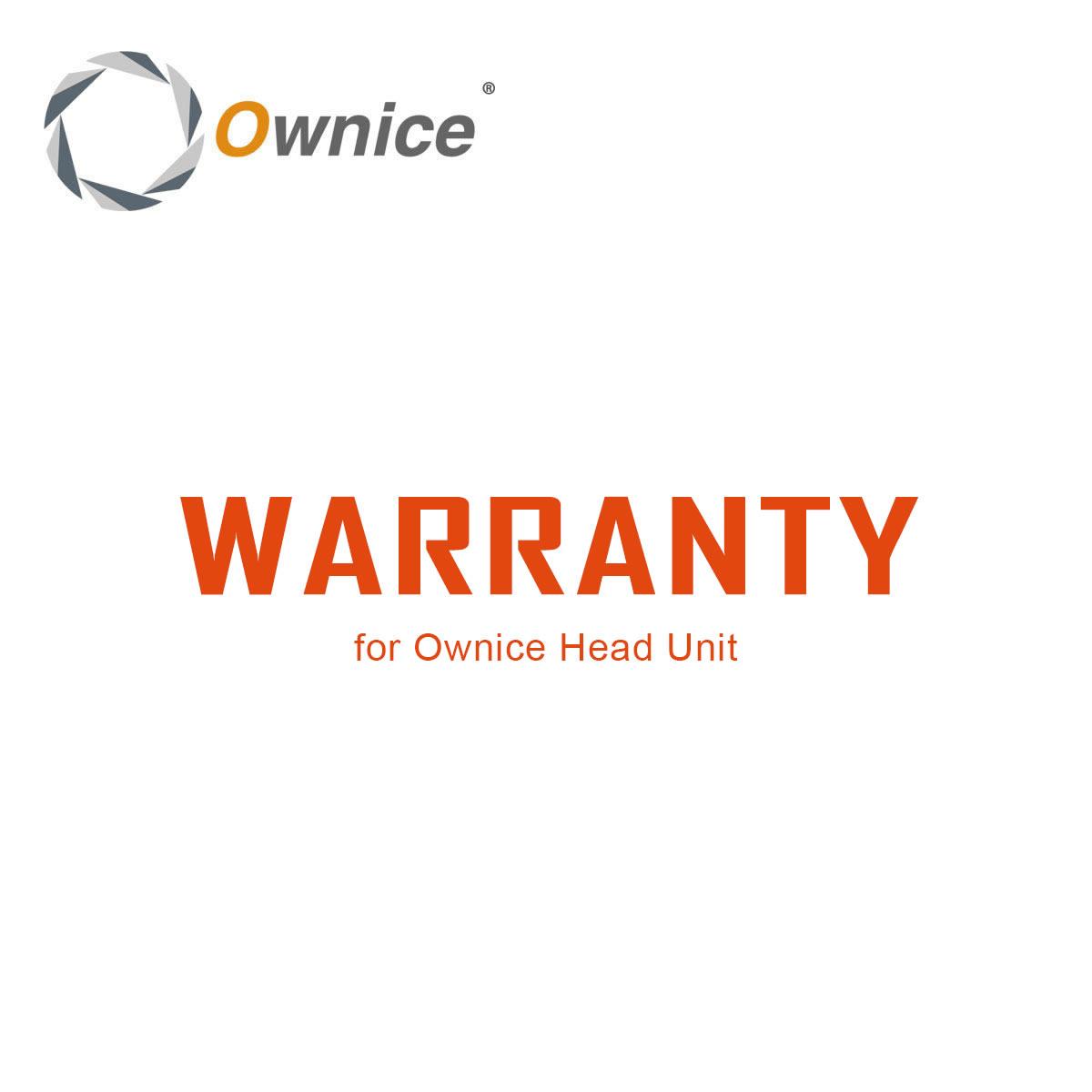 [해외]보증 정보/About warranty