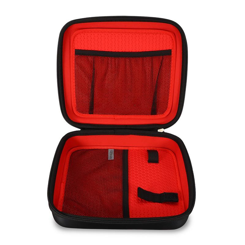 [해외]Garmin 장치에 대 한 Tomtom에 대 한 부드러운 인테리어 패브릭 핸들 저장 케이스 맞는 5 & -6 & & 화면 GPS 단위 PU 블랙 보호 마모/Soft Interior Fabric Handle Storage Case for To