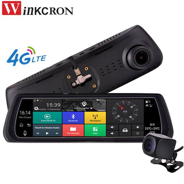 [해외]4G 자동차 dvr 미러 GPS 네비게이션 8 & IPS 스페셜 자동차 DVR 카메라 미러 GPS 블루투스 와이파이 ADAS 자동차 지원 듀얼 렌즈 대쉬 캠/4G Car dvr mirror GPS navigation 8& IPS Special Car DV