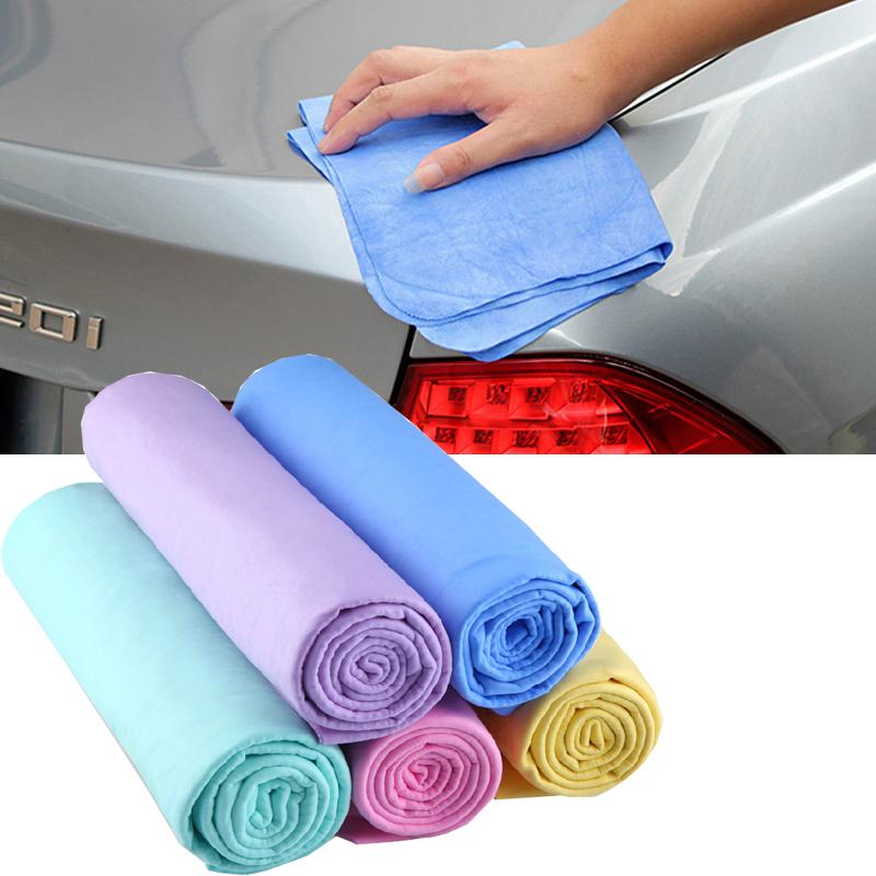 [해외]자동차 세척 닦아 타올 천을 다기능 합성 자동차 Chamois 흡수 마이크로 화이버 홈 청소 자동차 액세서리/Car Washing Wipe Towel Cloth Multifunction Cleaning Synthetic Chamois Absorption Micr