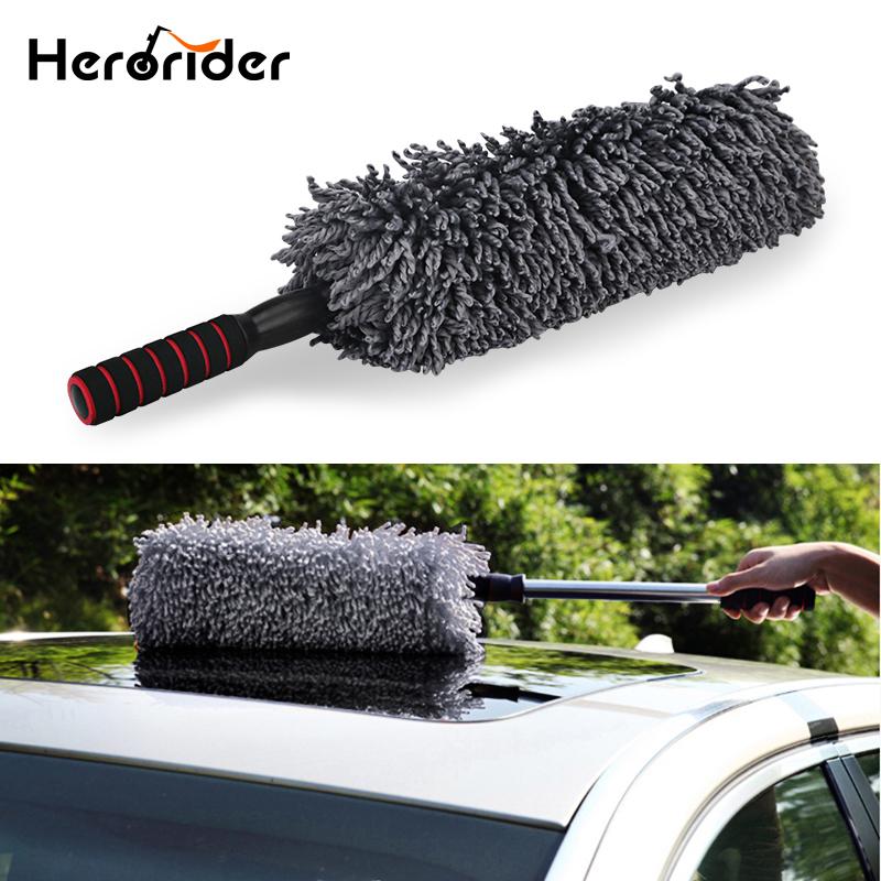 [해외]자동차 마이크로 화이버 자동차 먼지 떨이 브러시 청소 먼지 먼지 깨끗한 브러시 범용 자동차 관리 도구 연마 자세히 수건 옷감/Auto Microfiber Car Duster Brush Cleaning Dirt Dust Clean Brush Universal Ca