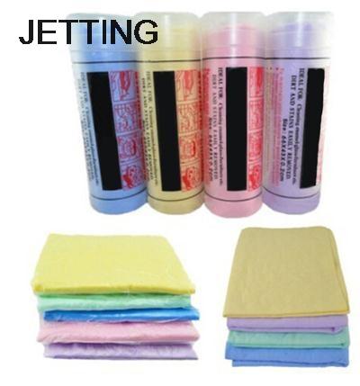 [해외]뜨거운 1pcs 자동차 스타일링 스폰지 자연 Chamois 가죽 자동차 청소 천 스웨드를 세척 흡수 와셔 수건 색상 임의/Hot 1pcs Car Styling Sponge Natural Chamois Leather Car Cleaning Cloth Washing