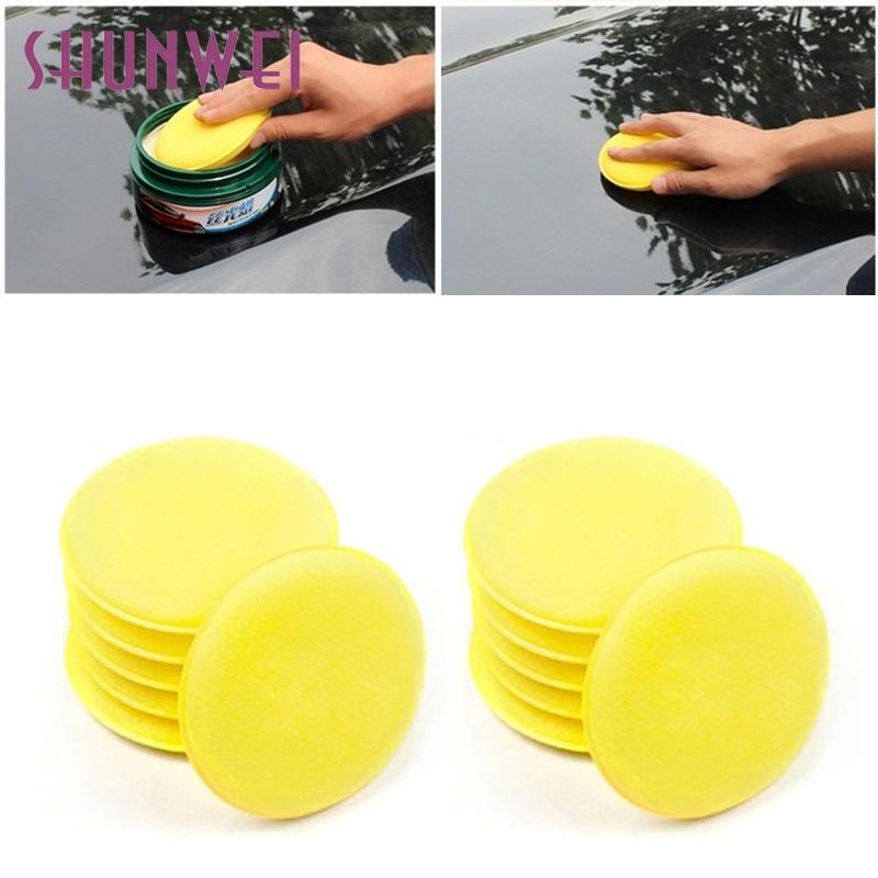 [해외]자동차 스타일링 shunwei 12X 폼 스펀지 왁싱 왁스 애플리케이터 패드 자동차 차량 유리 청소 td7 Dropship/Car-styling shunwei 12X Foam Sponge Waxing Wax Applicator Pad CARS Vehicle Gl