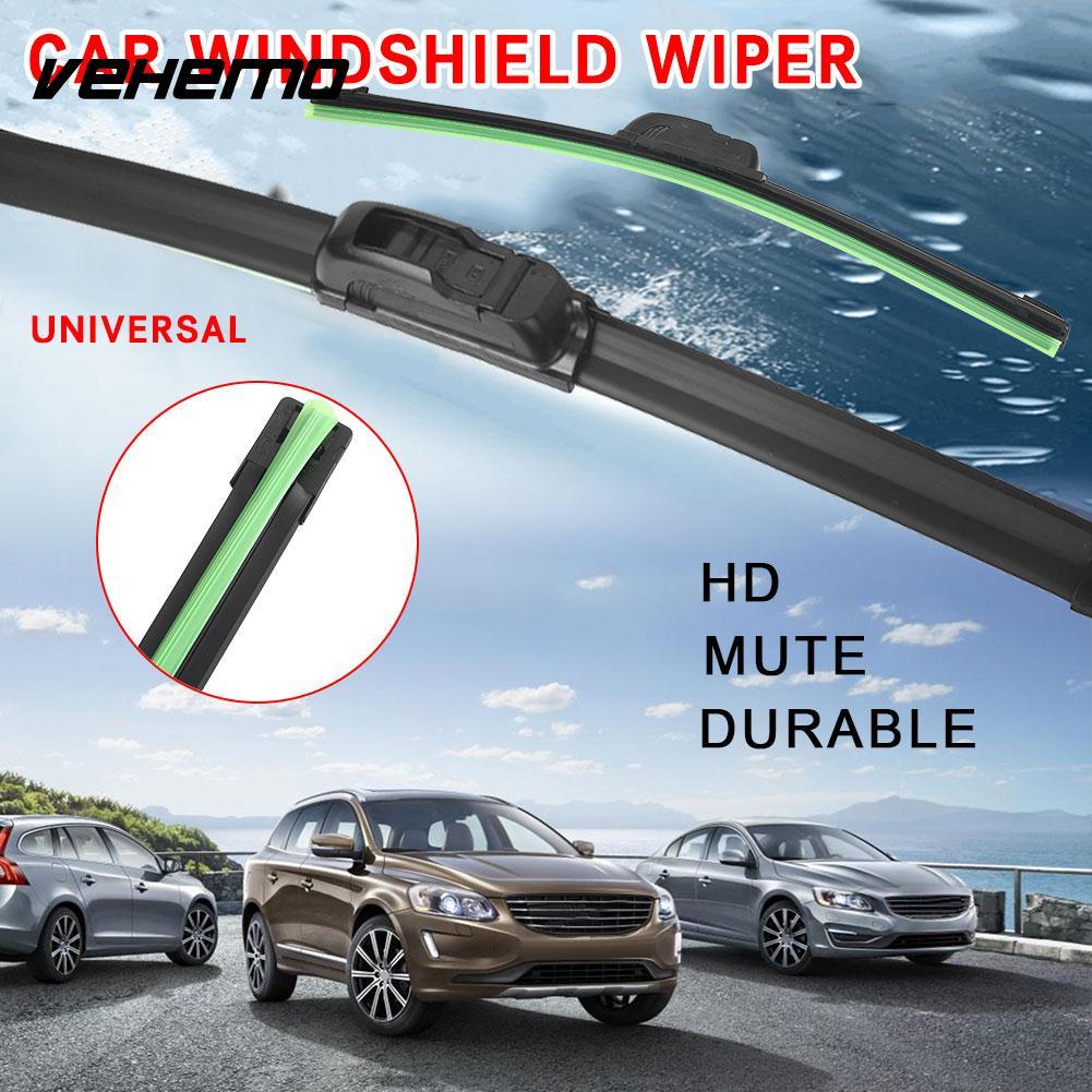 [해외]Vehemo Frameless Wiper Bar 빗방울 앞 유리 와이퍼 블레이드 내구성 보충 액세서리 Universal Exterior/Vehemo Frameless Wiper Bar Rain Windshield Wiper Blade Durable Supplem
