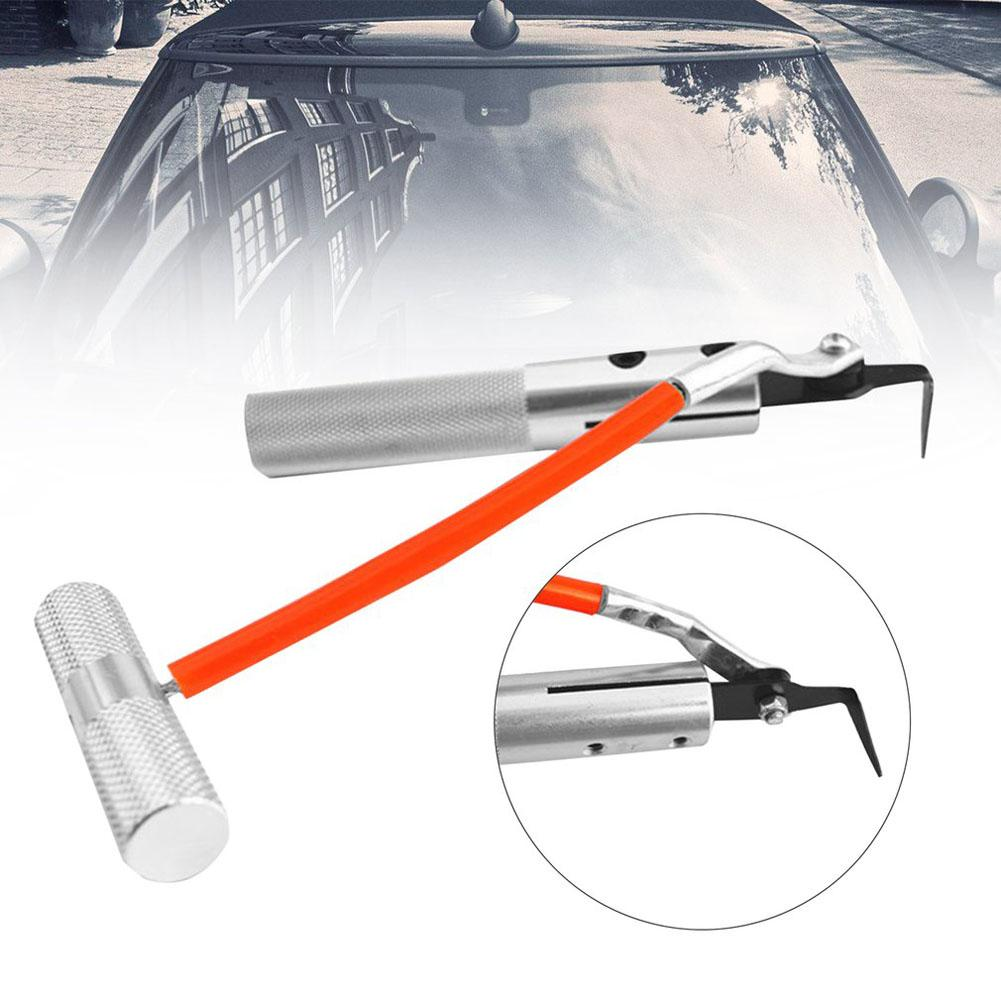 [해외]새로운 자동차 앞 유리 제거제 자동차 유리 창 인감 고무 제거 도구 금속 유리 칼 수리 손 도구 J3/NEW Car Windshield Remover Automotive Window Glass Seal Rubber Removing Tool Metal Glass