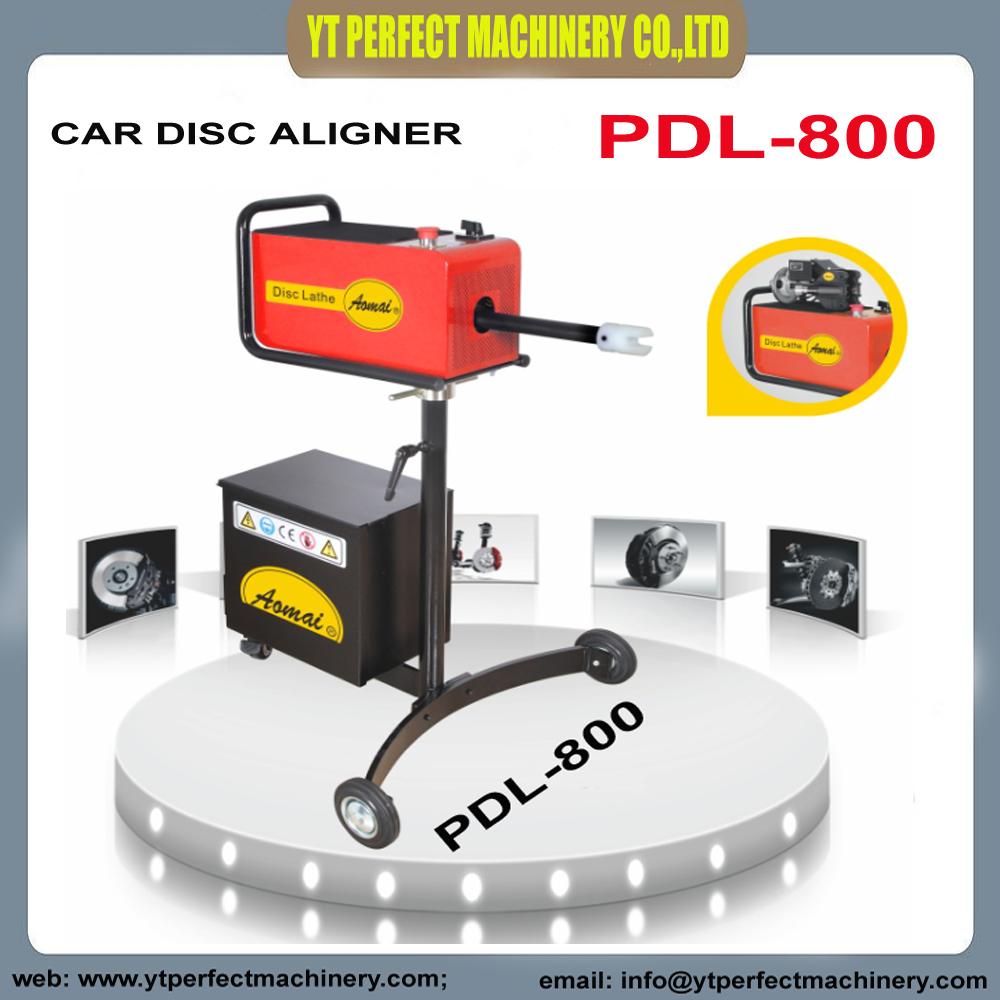 [해외]PDL-800 자동 브레이크 디스크 정렬 장치/자동차 디스크 정렬 장치/자동차 디스크 브레이크 선반