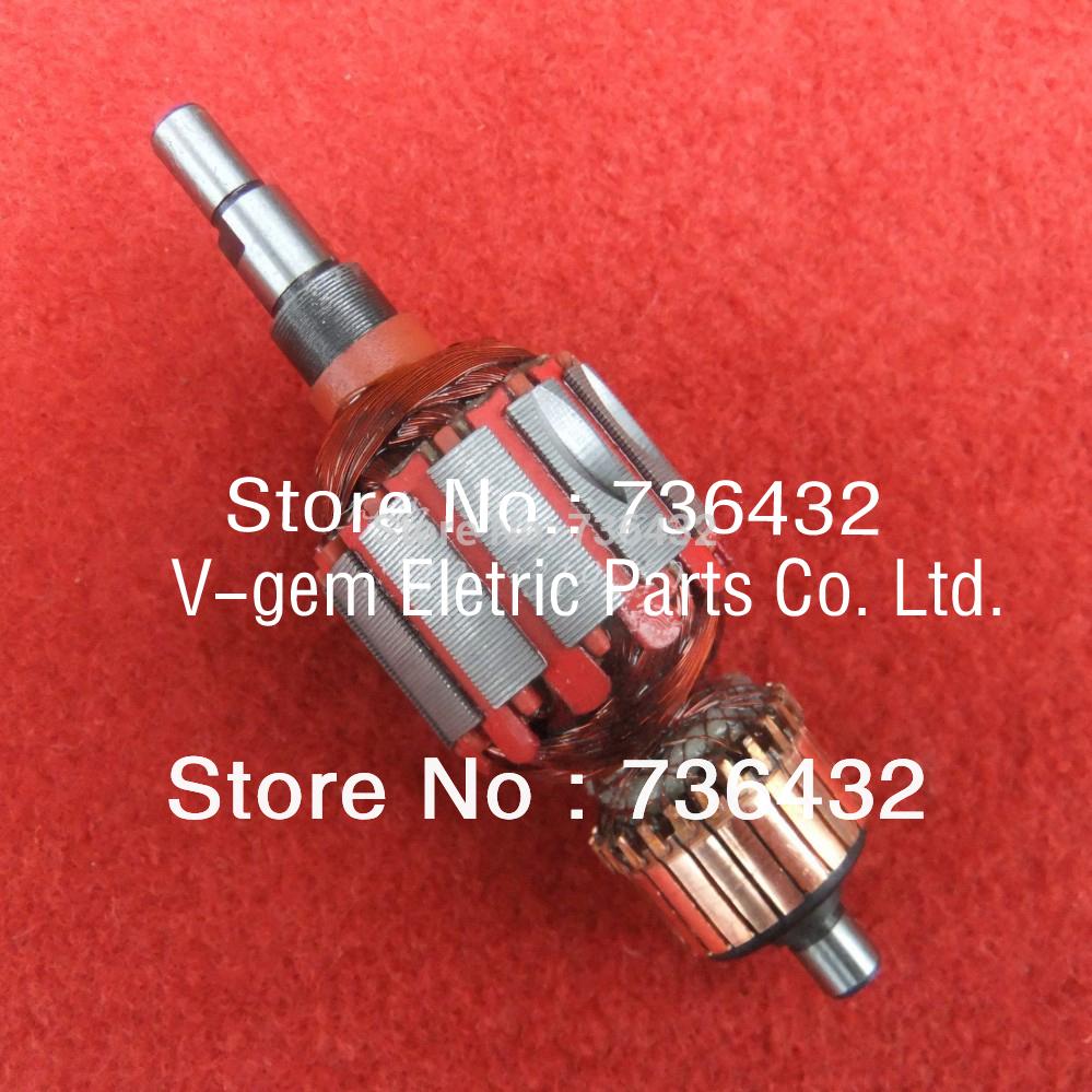 [해외]Whiesaler Electric Angle Grinder 로터 / 마끼 타 플랫 샌더 4510 용 로터/Whoesaler Electric Angle Grinder rotor / Armature Rotor for Makita Flat sander 4510