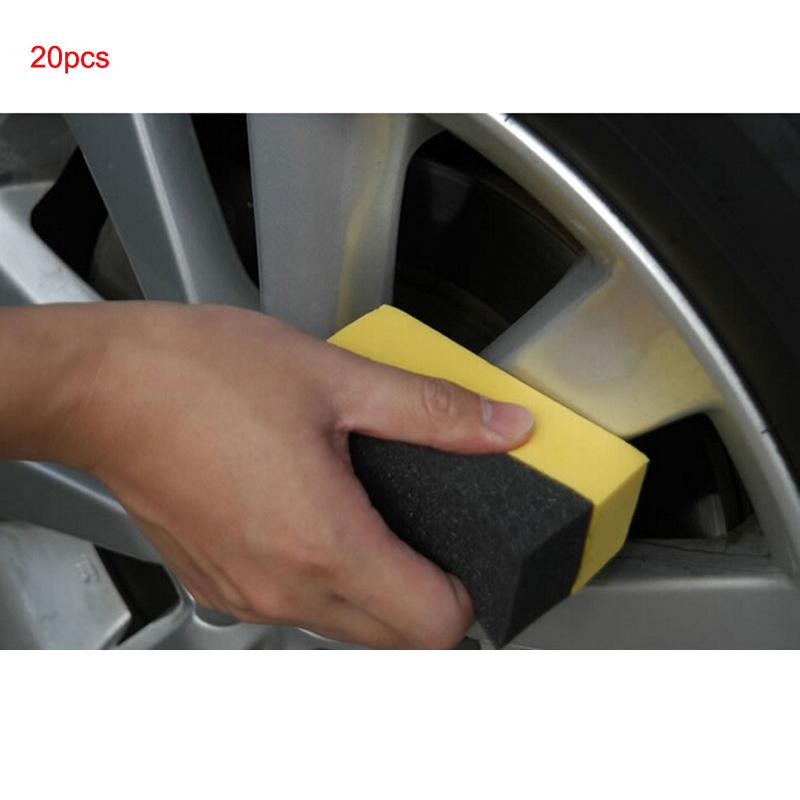 [해외]Youwinme 20pcs U 모양 자동 타이어 워시 브러시 스폰지 트럭 타이어 페인트 케어 자동차 바퀴 청소 왁스 연마 와셔 닦으십시오/Youwinme 20pcs U-Shape Auto Tyre Wash Brush Sponge Truck Tire Paint C
