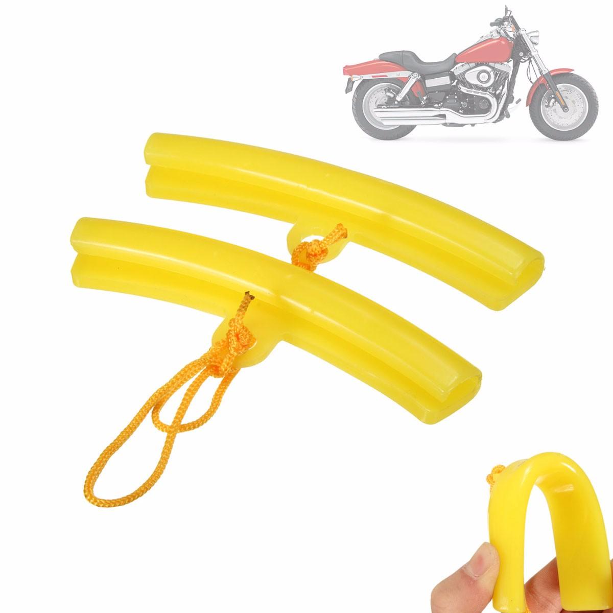 [해외]2PCS 합금 오토바이 오토바이 휠 림 프로텍터 타이어 제거 가장자리 보호 유니버설/2PCS Alloy Motorbike Motorcycle Wheel Rim Protector Tyre Remove Edge Protection Universal