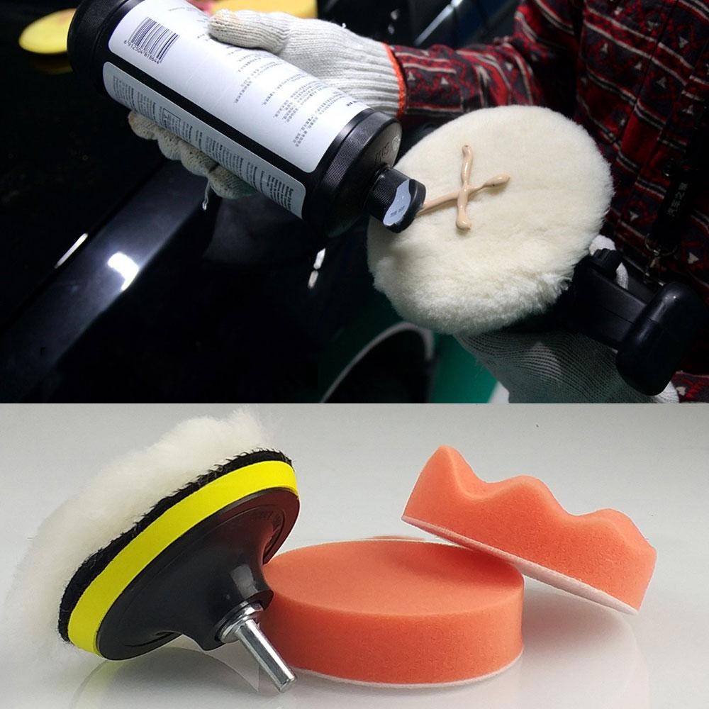 [해외]세차장 청소 자동차 연마 휠 키트 용 연마 패드 버핑 패드 키트 BufferDrill Adapter/Car Wash Cleaning Gross Polishing Buffing Pad Kit for Auto Car Polishing Wheel Kit BufferD