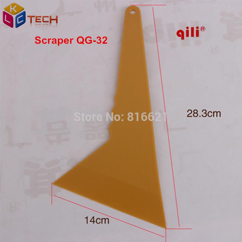 [해외]QIli QG-32 경질 플라스틱 스크레이퍼 수입 고온 내성 POM 긴 핸들 바닥 청소 및 산업용 공구 스퀴지/QIli QG-32 Tirangular Plastic Scraper Imported High temperature resistant POM long h