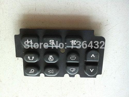 [해외]?Kobelco SK200-2 표시 keysters 접착제 - 후크 기계 가전 제품 - 기계 장비 키 패널을 파고/ Kobelco SK200-2 display keysters glue - hook machine electrical appliances - digg